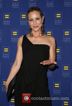 Maria Bello - HRC Los Angeles Gala Dinner 2015 at the JW Marriott Hotel at LA Live - Arrivals at...