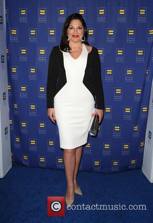 Sara Ramirez - HRC Los Angeles Gala Dinner 2015 at the JW Marriott Hotel at LA Live - Arrivals at...