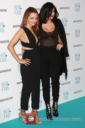 Maria Hatzistefanis and Kylie Jenner
