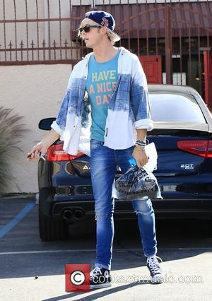 Riker Lynch - Celebrities outside the 'Dancing With The Stars' rehearsal studios at Dancing With The Stars rehearsal studio -...