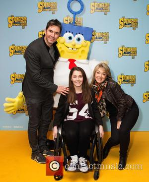 Stewart Castledine, Kitty Rose and Lucy Alexander - 'The SpongeBob Movie: Sponge Out of Water' UK Gala Screening at the...