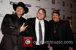 Robert Rodriguez, Guillermo Del Toro and Danny Trejo