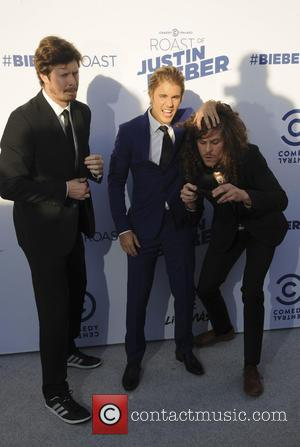 Anders Horm, Justin Bieber and Blake Anderson
