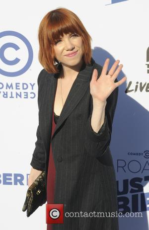 Carly Rae Jepsen - A host of stars were snapped as they arrived for Comedy Central's Roast Of Canadian pop...