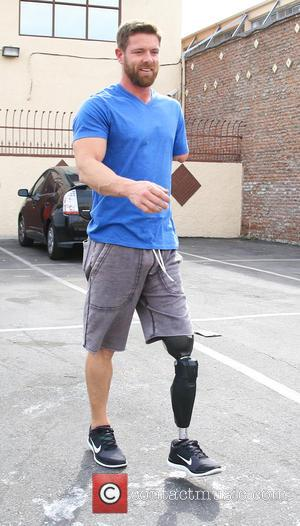 Noah Galloway - Celebrities outside the 'Dancing With The Stars' rehearsal studios at Dancing With The Stars rehearsal studio -...