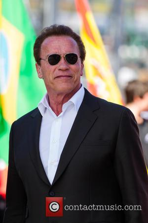 Arnold Schwarzenegger - Formula One Australian Grand Prix at Olympia Hall - Melbourne, Australia - Sunday 15th March 2015
