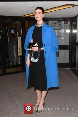 Erin O'Connor - Dior and I - UK film premiere held at the Curzon Mayfair. - London, United Kingdom -...