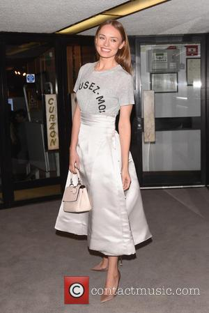 Laura Haddock - Dior and I - UK film premiere held at the Curzon Mayfair. - London, United Kingdom -...