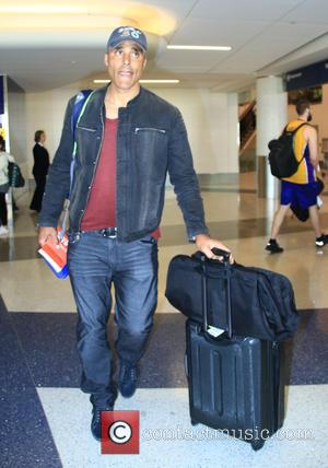 Rick Fox - Rick Fox at Los Angeles International Airport (LAX) at LAX - Los Angeles, California, United States -...