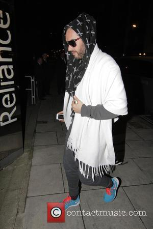 Russell Brand - Russell Brand arriving at The Proud Archivist for  'Trew Musings' -  a series of readings,...