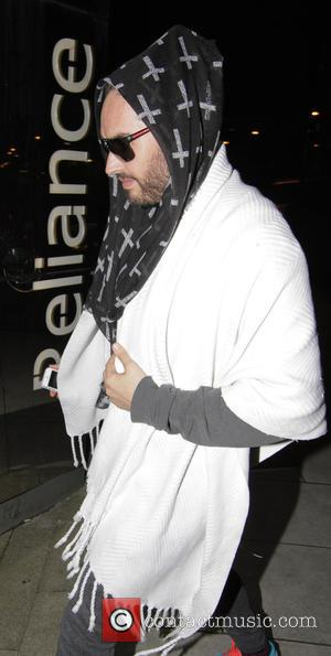 Russell Brand Attending Sleepover Protest