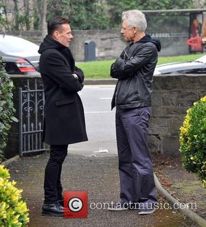 Larry Mullen and Adam Clayton