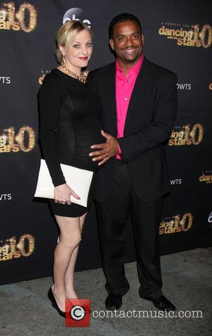 Alfonso Ribeiro and Angela Unkrich - Dancing With The Stars Season 20 Premiere Party - Arrivals at HYDE Sunset: Kitchen...