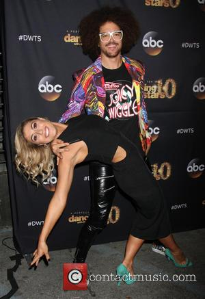 Redfoo and Emma Slater - Dancing With The Stars Season 20 Premiere Party - Arrivals at HYDE Sunset: Kitchen +...