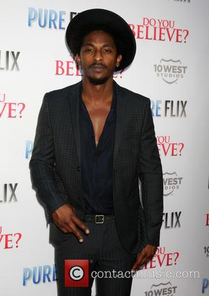 Shwayze - Los Angeles premiere of 'Do You Believe?' - Arrivals at ArcLight Theater Hollywood - Los Angeles, California, United...