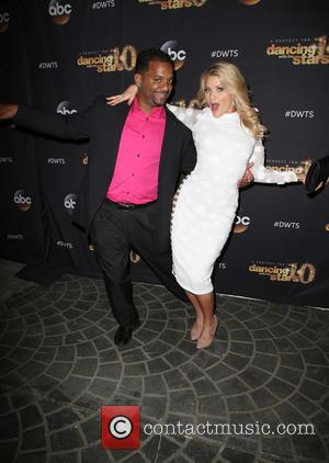 Alfonso Ribeiro and Witney Carson - Celebrities from the TV show