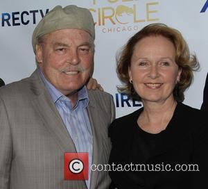 Stacy Keach and Kate Burton