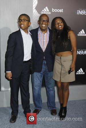 Al Roker and and his kids - Premiere of 'The Divergent Series: Insurgent' held at the Ziegfeld Theatre - Arrivals...