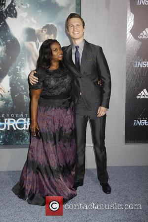Octavia Spencer and Ansel Elgort