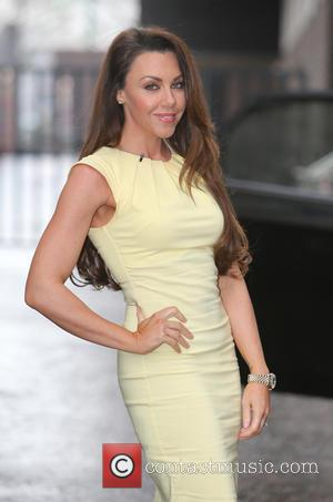 Michelle Heaton - Michelle Heaton outside ITV Studios - London, United Kingdom - Monday 16th March 2015