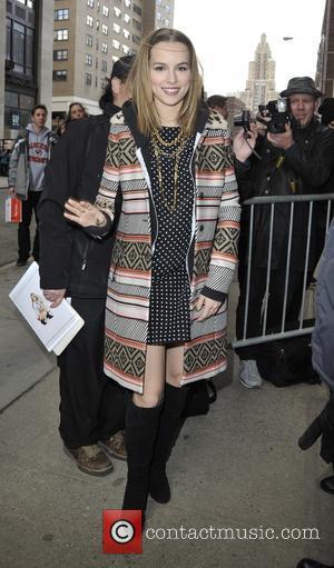 Bridgit Mendler - Bridgit Mendler at The Huffington Post - Manhattan, New York, United States - Tuesday 17th March 2015