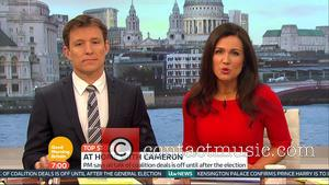 Ben Shepherd and Susanna Reid