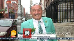 Brendan O'Carroll - Brendan O'Carroll appears on 'Good Morning Britain' to discuss his role as Grand Marshall of the St...