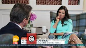 David Cameron and Susanna Reid