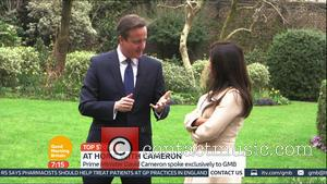 David Cameron and Susanna Reid - Susanna Reid is been granted rare access to Downing Street to meet Prime Minister...