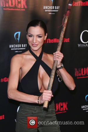 Jordan Carver - Special screening of 'Muck' at Arena Cinema Hollywood - Arrivals at The Arena Stage at Theatre of...