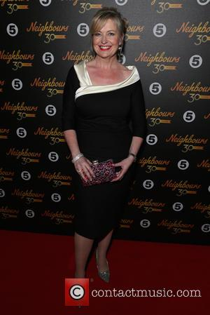 Carol Kirkwood - 'Neighbours' 30th Anniversary event at Café De Paris in Leicester Square - Arrivals at Leicester Sq -...