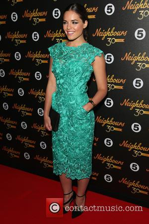 Olympia Valance - 'Neighbours' 30th Anniversary event at Café De Paris in Leicester Square - Arrivals at Leicester Sq -...