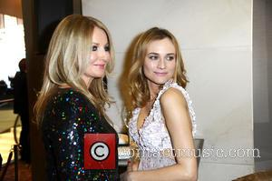 Frauke Ludowig and Diane Kruger