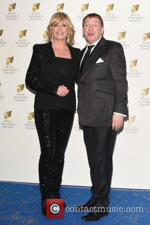 Laurie Brett and  Adam Woodyatt - Royal Television Society Programme Awards held at the Grosvenor House. at Grosvenor House -...