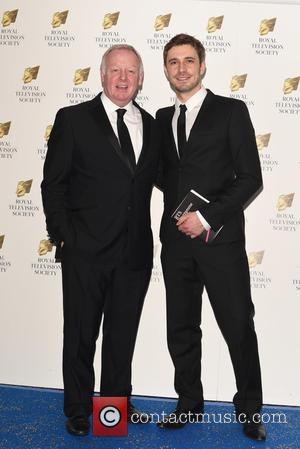 Les Dennis and  Oliver Farnworth - Royal Television Society Programme Awards held at the Grosvenor House. at Grosvenor House -...