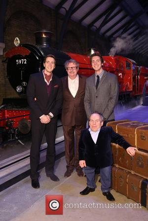 James Phelps, Oliver Phelps, Mark Williams and Warwick Davis