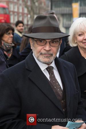 David Suchet - Memorial service for Lord Richard Attenborough at Westminster Abbey - Arrivals at Westminster Abbey - London, United...