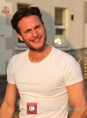 Gary Lucy - Gary Lucy relaxing between shows of The Full Monty at Venue Cymru at Venue Cymru - Llandudno,...