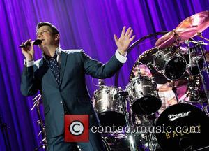 Tony Hadley - Spandau Ballet performing live on stage at the 02 Arena at North Greenwhich - London, United Kingdom...