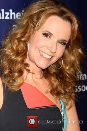 Lea Thompson - 23rd Annual 'A Night at Sardi's' to benefit the Alzheimer's Association - Arrivals at Beverly Hilton Hotel...