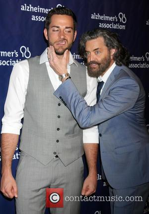 Zachary Levi and Timothy Omundson