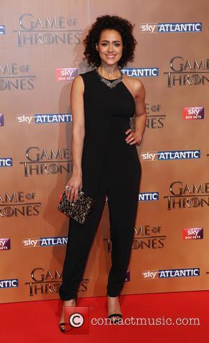 Nathalie Emmanuel - Game of Thrones Season 5 Premiere - London, United Kingdom - Wednesday 18th March 2015