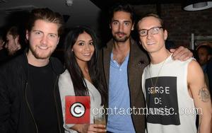 Stevie Johnson, Shree, Oliver Proudlock and Hugo Taylor