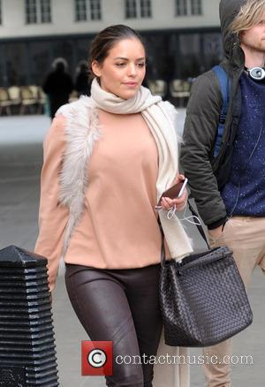 Olympia Valance and Tim Phillips - 'Neighbours' stars, Olympia Valance and Tim Phillips at the BBC Radio 1 studios -...