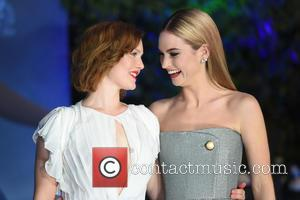 Holliday Grainger and Lily James