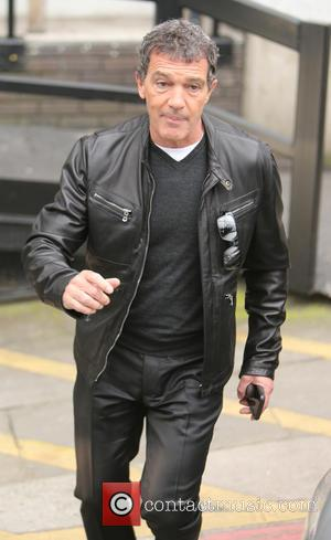 Antonio Banderas - Antonio Banderas outside ITV Studios - London, United Kingdom - Thursday 19th March 2015