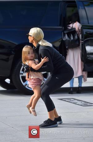 Penelope Disick and Kim Kardashian