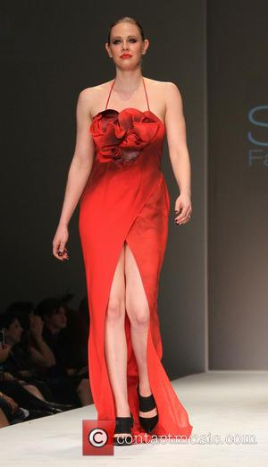 Maitland Ward - SFW Go Red Celebrity Red Dress Show Benefiting the American Heart Association - Runway - Los Angeles,...