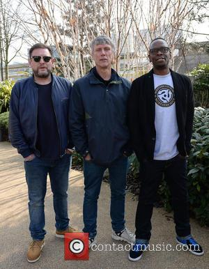 Shaun Ryder, Mark Berry(bez) and Paul Leveridge