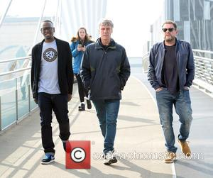 Shaun Ryder, Mark Berry(Bez) and Paul Leveridge - Black Grape get back together for a charity  gig at Old...